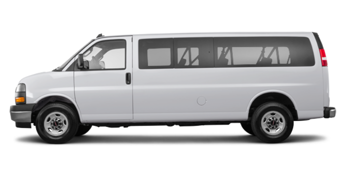 2018 GMC Savana 3500 PASSENGER LT | Photo 4 | Quicksilver Metallic