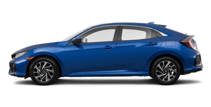 2018 Honda Civic hatchback LX | Photo 4 | Aegean Blue Metallic
