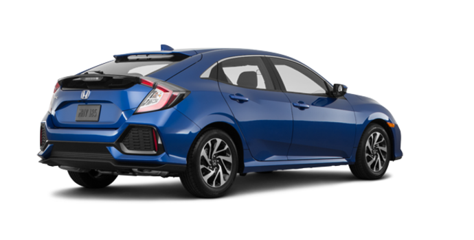 2018 Honda Civic hatchback LX | Photo 5 | Aegean Blue Metallic