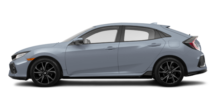 2018 Honda Civic hatchback SPORT TOURING | Photo 4 | Sonic Grey Pearl