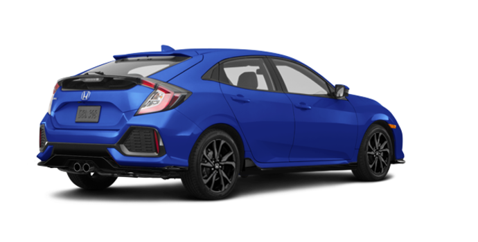 2018 Honda Civic hatchback SPORT TOURING | Photo 5 | Aegean Blue Metallic