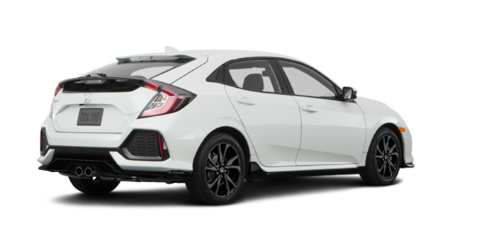 2018 Honda Civic hatchback SPORT TOURING | Photo 5 | White Orchid Pearl