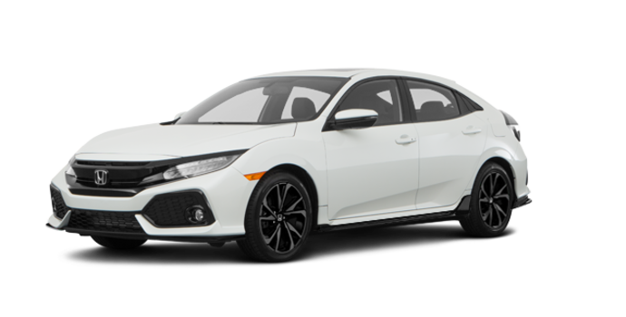 2018 Honda Civic hatchback SPORT TOURING | Photo 6 | White Orchid Pearl