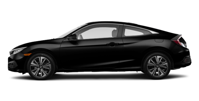 2018 Honda Civic Coupe EX-T | Photo 4 | Crystal Black Pearl