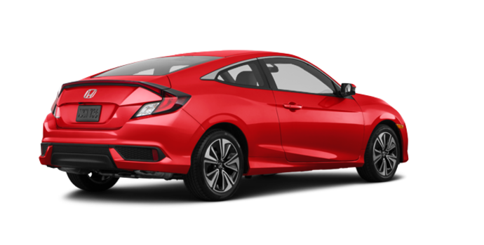 2018 Honda Civic Coupe EX-T | Photo 5 | Rallye Red