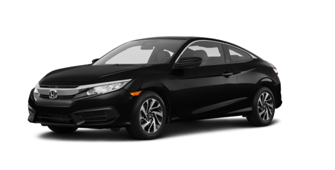 2018 Honda Civic Coupe LX | Photo 6 | Crystal Black Pearl