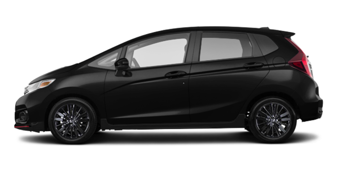 2018 Honda Fit SPORT SENSING | Photo 4 | Crystal Black Pearl