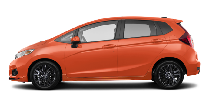 2018 Honda Fit SPORT SENSING | Photo 4 | Orange Fury