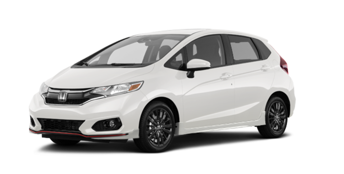 2018 Honda Fit SPORT | Photo 6 | White Orchid Pearl