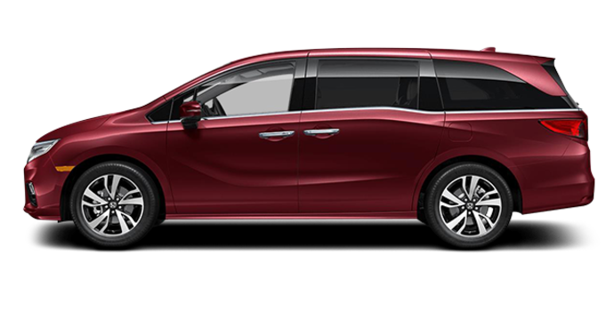 2018 Honda Odyssey TOURING | Photo 4 | Deep Scarlet Pearl
