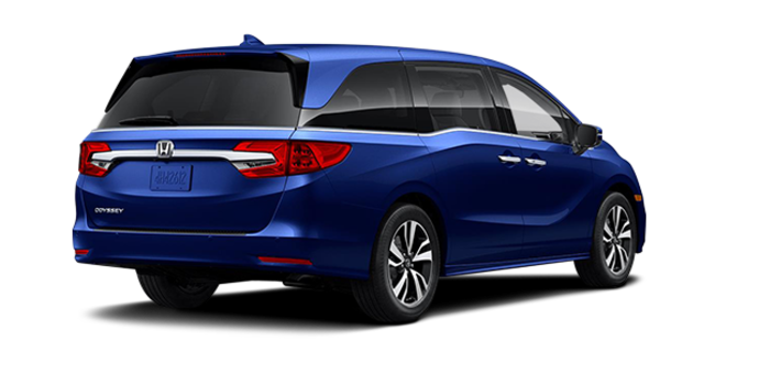 2018 Honda Odyssey TOURING | Photo 5 | Obsidian Blue Pearl
