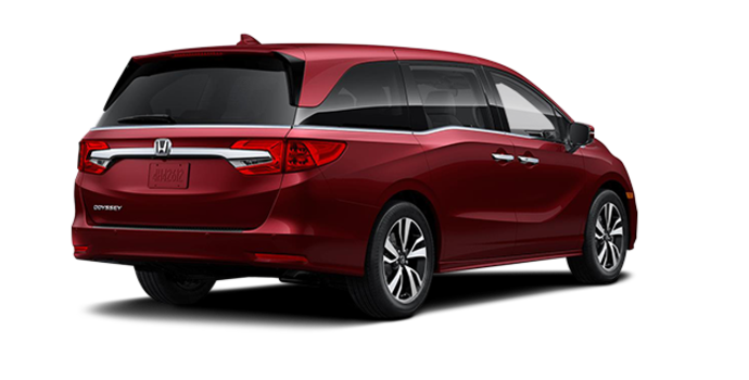2018 Honda Odyssey TOURING | Photo 5 | Deep Scarlet Pearl