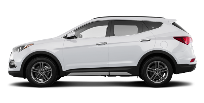 2018 Hyundai Santa Fe Sport 2.0T LIMITED | Photo 4 | Frost White Pearl