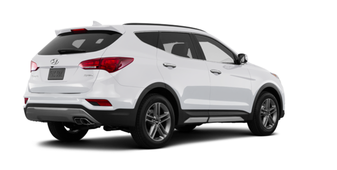 2018 Hyundai Santa Fe Sport 2.0T LIMITED | Photo 5 | Frost White Pearl