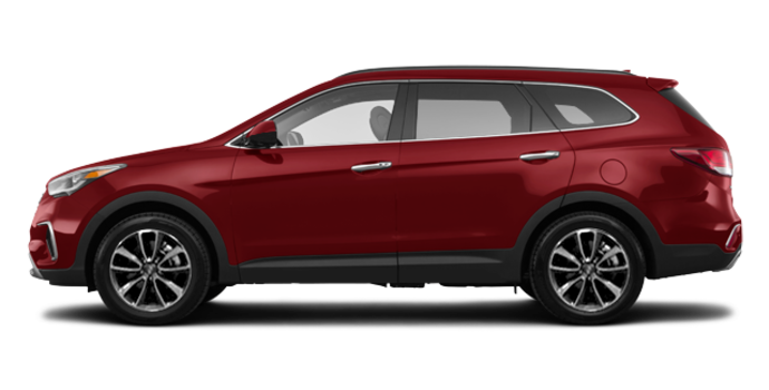 2018 Hyundai Santa Fe XL BASE | Photo 4 | Regal Red Pearl