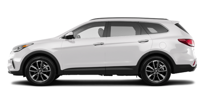 2018 Hyundai Santa Fe XL BASE | Photo 4 | Monaco White