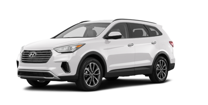 2018 Hyundai Santa Fe XL BASE | Photo 6 | Monaco White