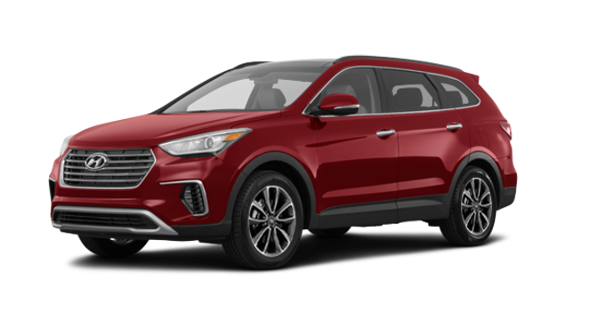 2018 Hyundai Santa Fe XL LUXURY | Photo 6 | Regal Red Pearl