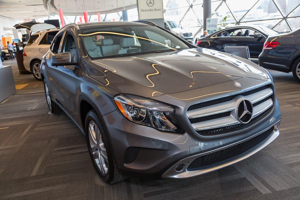 ottawa auto show 2015 mercedes benz gla class by