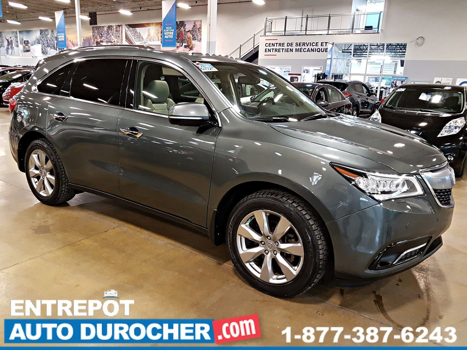 2015 Acura MDX ELITE 4X4 - NAVIGATION - LARGE DVD - 7 PASSAGERS - SUNROOF - HDMI