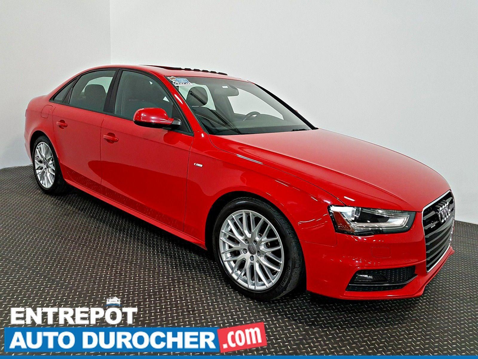 2015 Audi A4 Komfort plus AWD TOIT OUVRANT A/C - Cuir - Sièges Chauffants