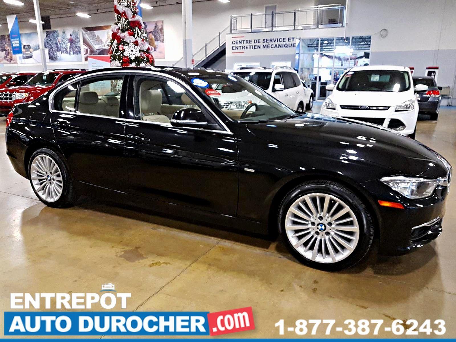 2013  BMW 3 Series LUXURY, 4X4, TOIT OUVRANT, SIÈGES EN CUIR