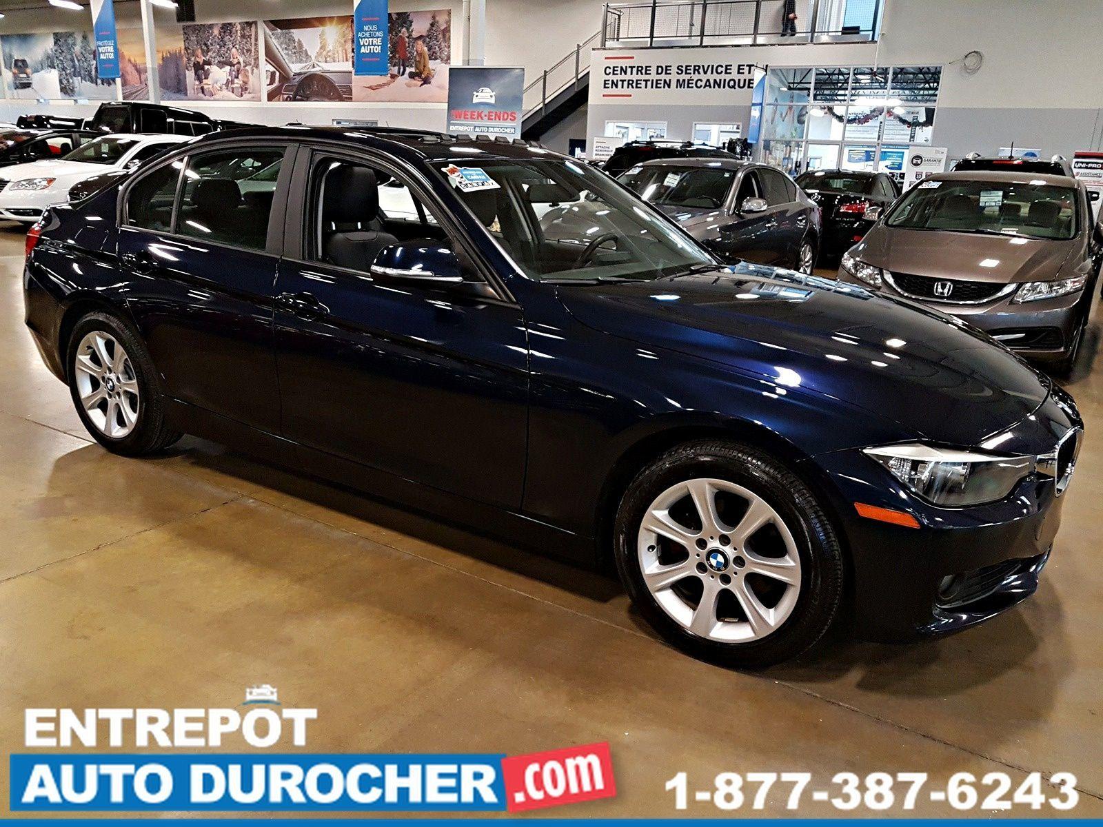 2013 BMW 3 Series 328xi 4X4 Automatique - TOIT OUVRANT - A/C - CUIR - Sièges Chauffants