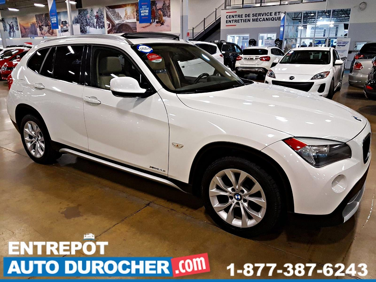 BMW X1 28i AWD AUTOMATIQUE, TOIT OUVRANT, CUIR 2012