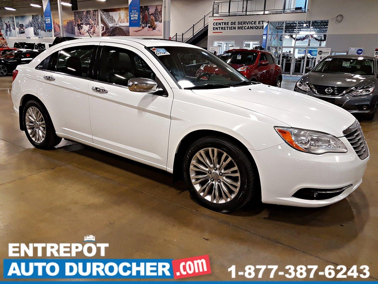 2013 Chrysler 200 Limited - Automatique - NAVIGATION - TOIT OUVRANT - CUIR - A/C