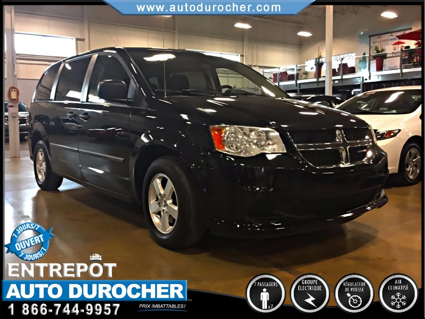 Dodge Grand Caravan AUTOMATIQUE TOUT ÉQUIPÉ JANTES 2012