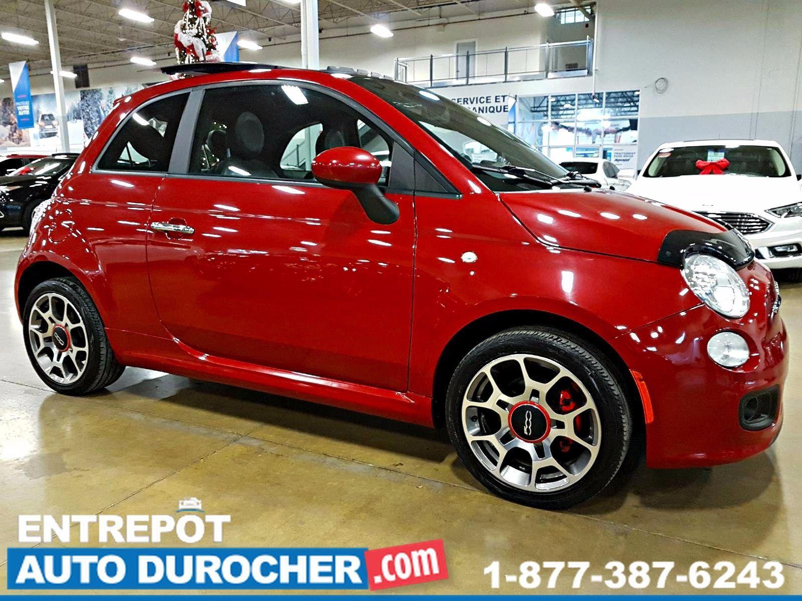 2013 Fiat 500 SPORT AUTOMATIQUE, TOIT OUVRANT, SIÈGES CHAUFFANTS