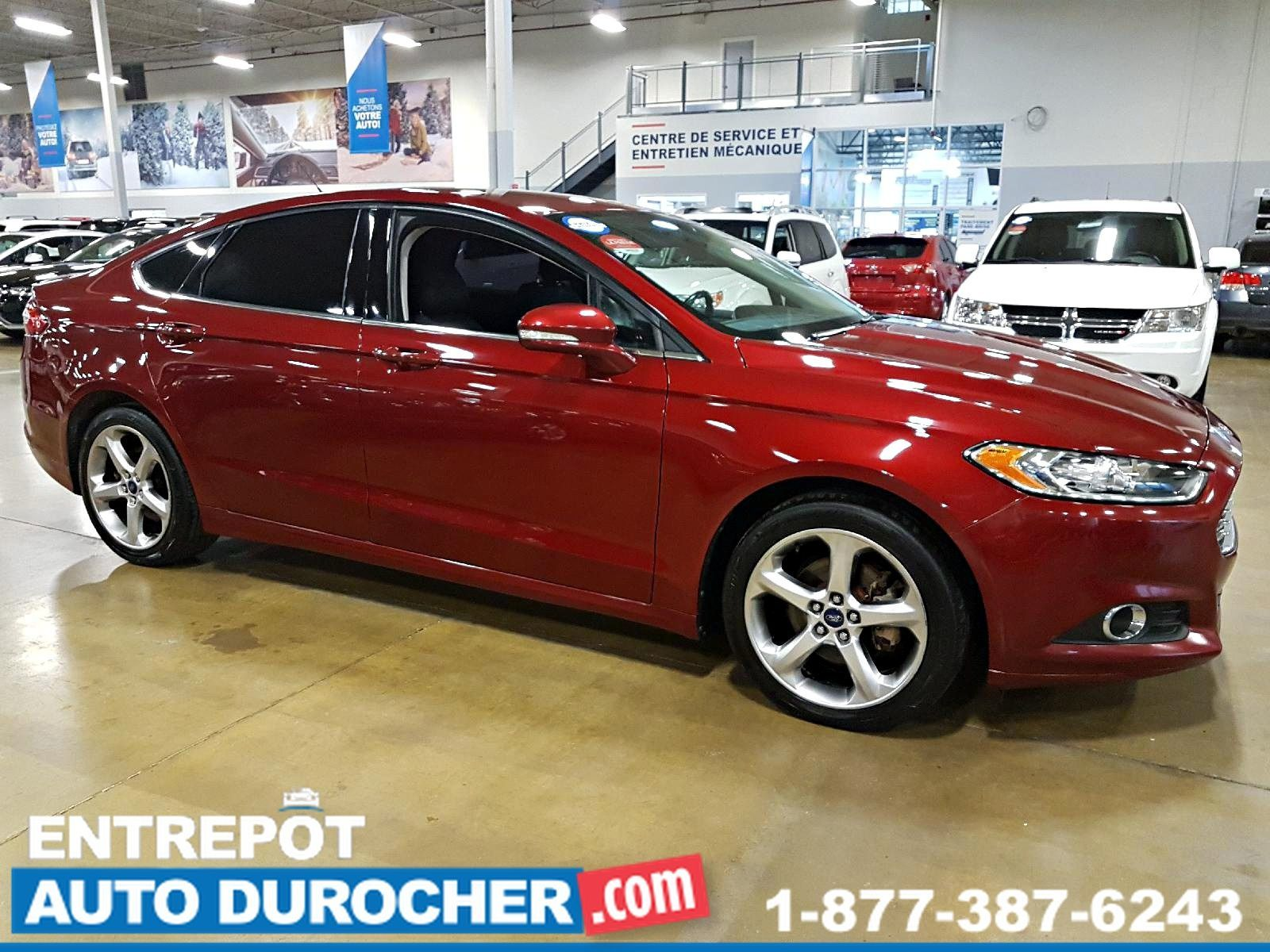 2013 Ford Fusion SE AWD AUTOMATIQUE, AIR CLIMATISÉ HEATED SEATS