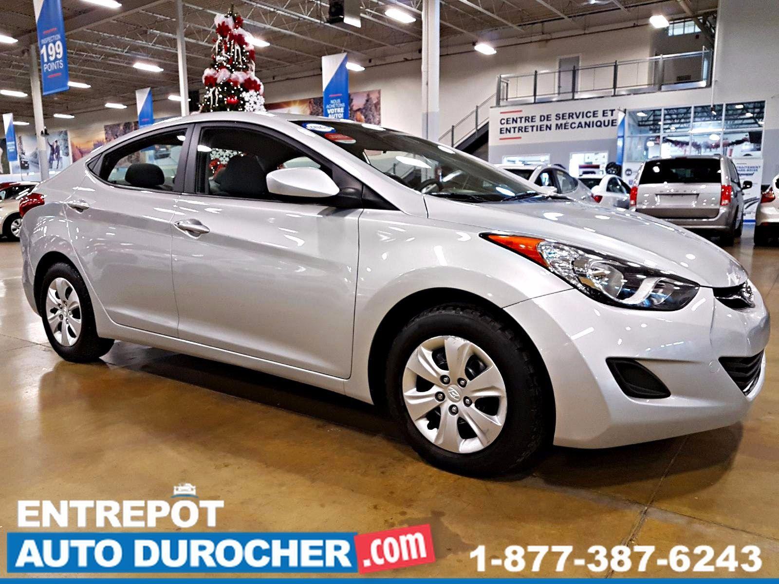 Hyundai Elantra AUTOMATIQUE - GROUPE ÉLECTRIQUE 2012