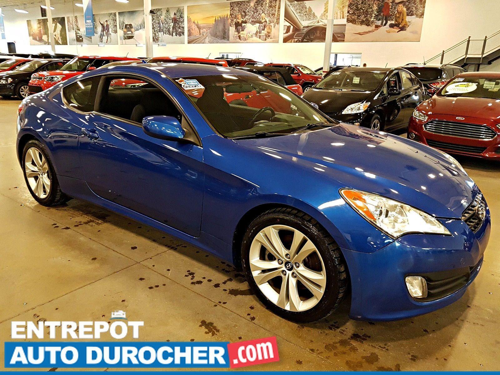 2011 Hyundai Genesis Coupe 2.0L TURBO - AIR CLIMATISÉ - Groupe Électrique