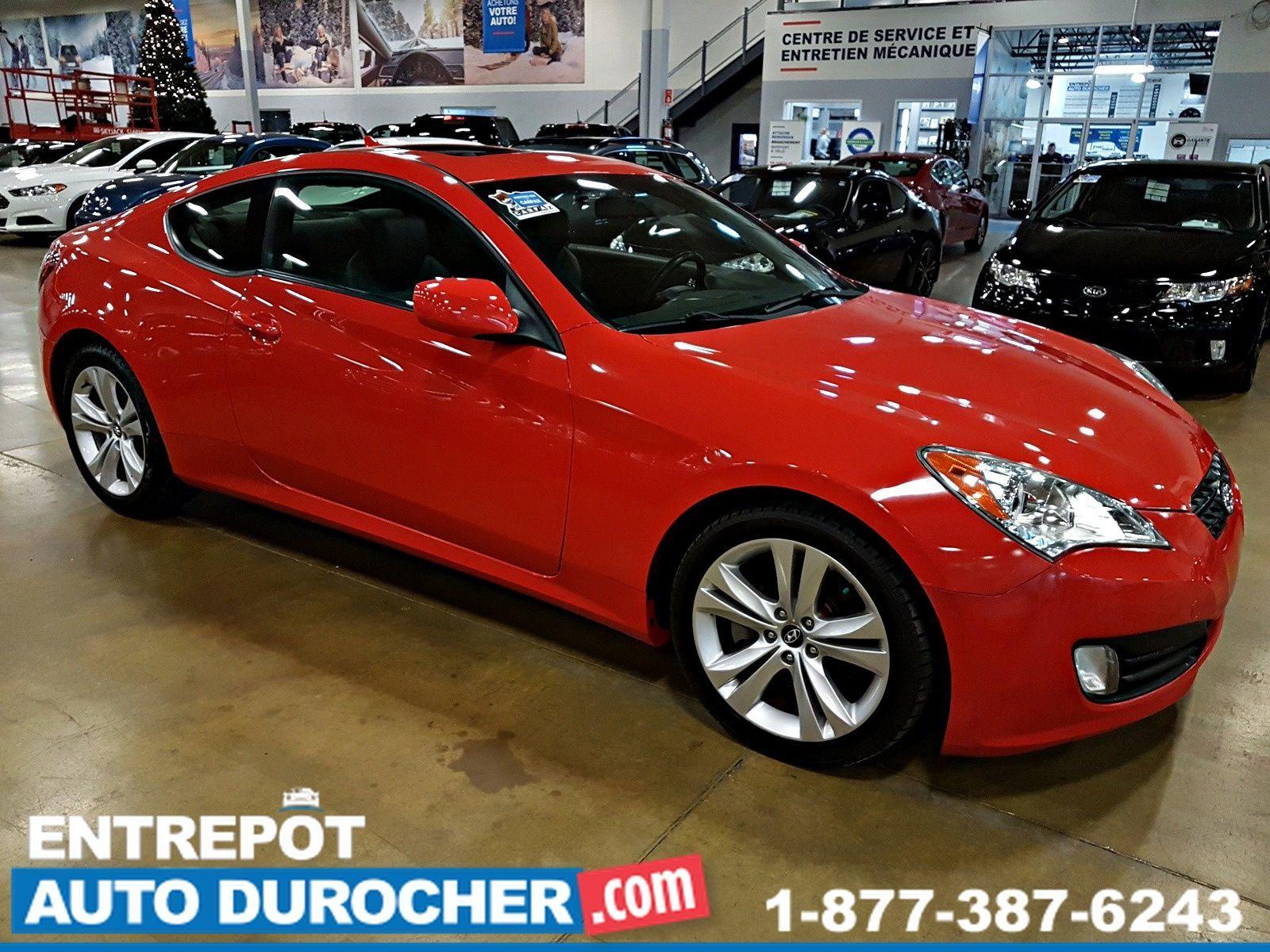 2012 Hyundai Genesis Coupe 2.0L - TOIT OUVRANT - AIR CLIMATISÉ - CUIR -  Heated