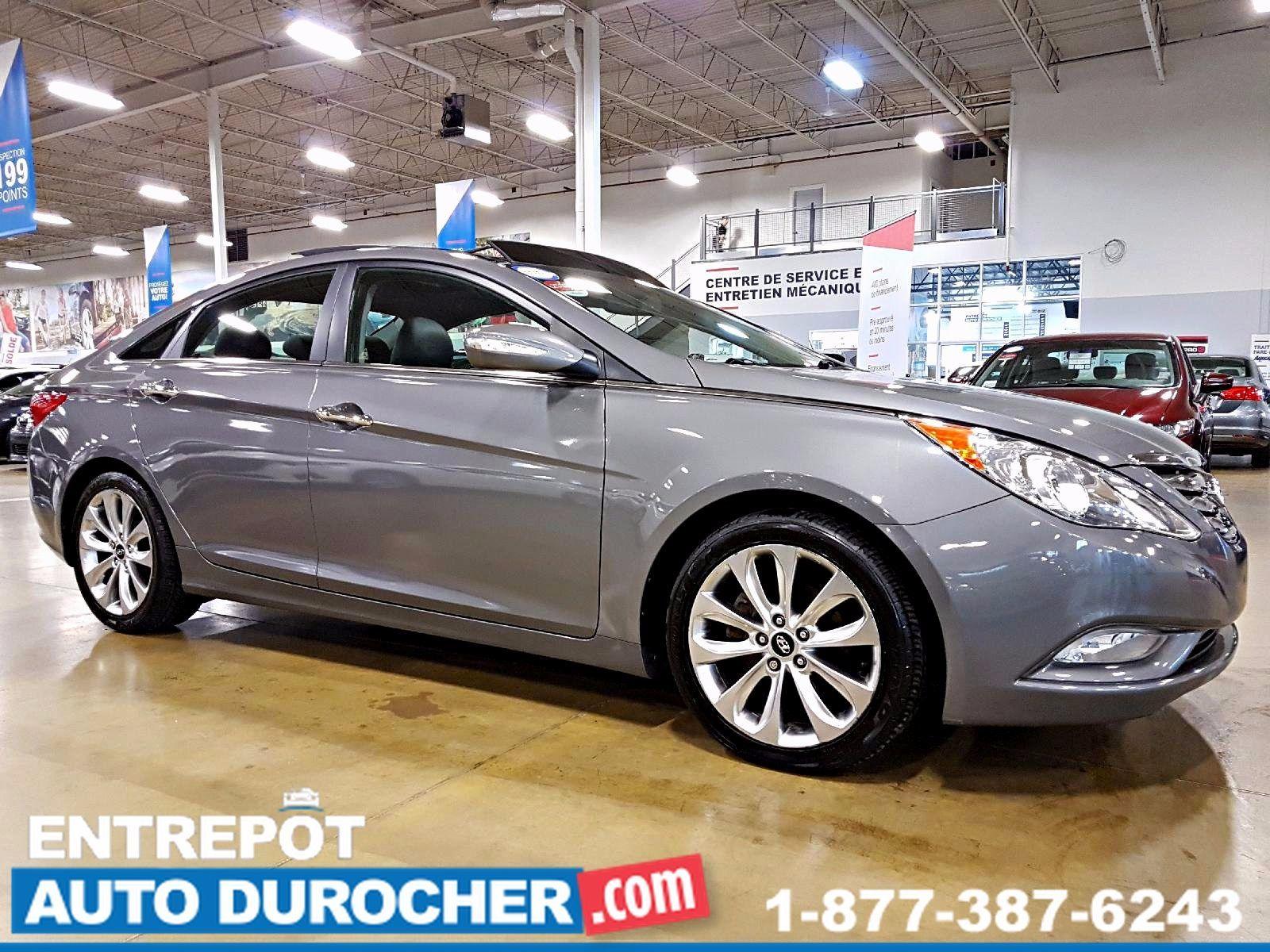 2012 Hyundai Sonata AUTOMATIQUE - AIR CLIMATISÉ - CUIR - TOIT OUVRANT