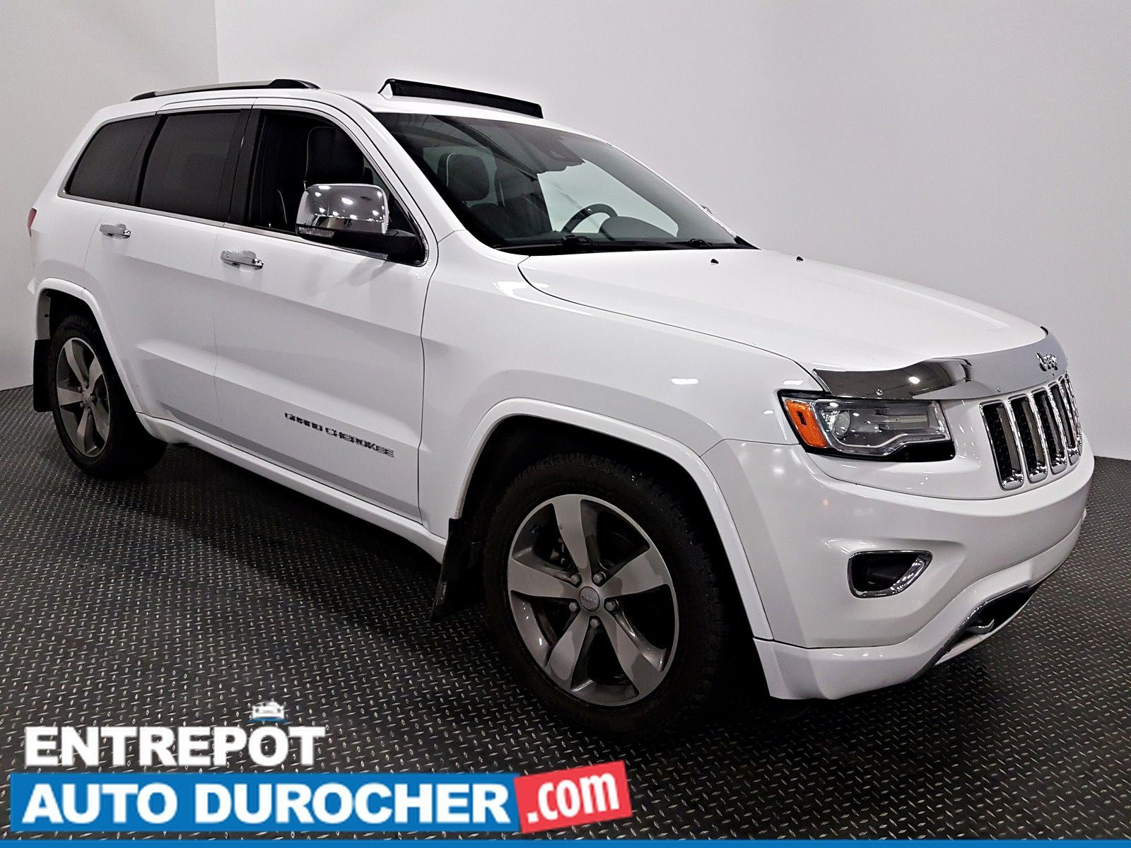 2016 Jeep Grand Cherokee Overland AWD - NAVIGATION - TOIT OUVRANT - CUIR Back-Up Camera