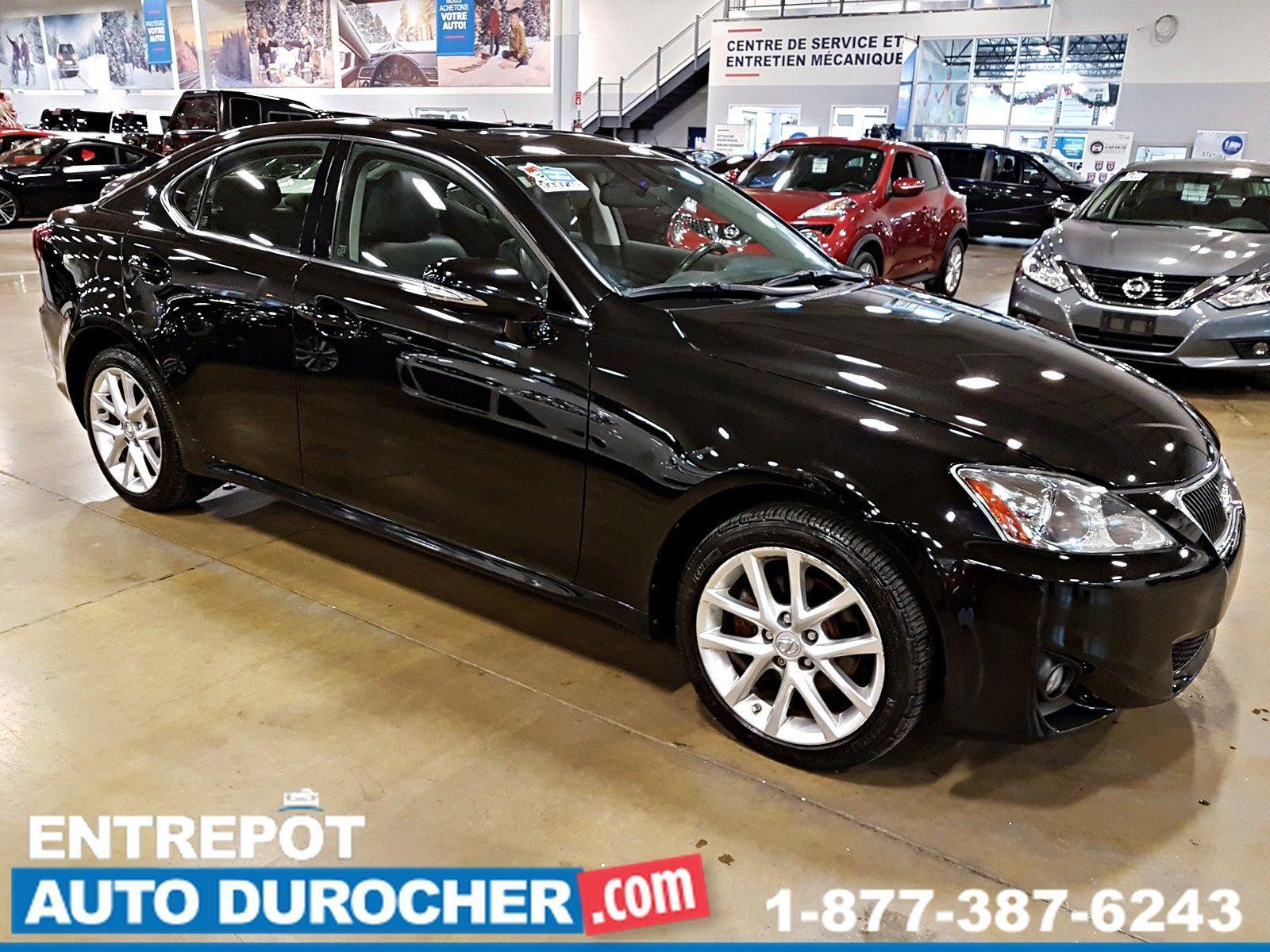 2013 Lexus IS 250 Automatique - 4X4 - TOIT OUVRANT - CUIR - A/C - Heated Seats