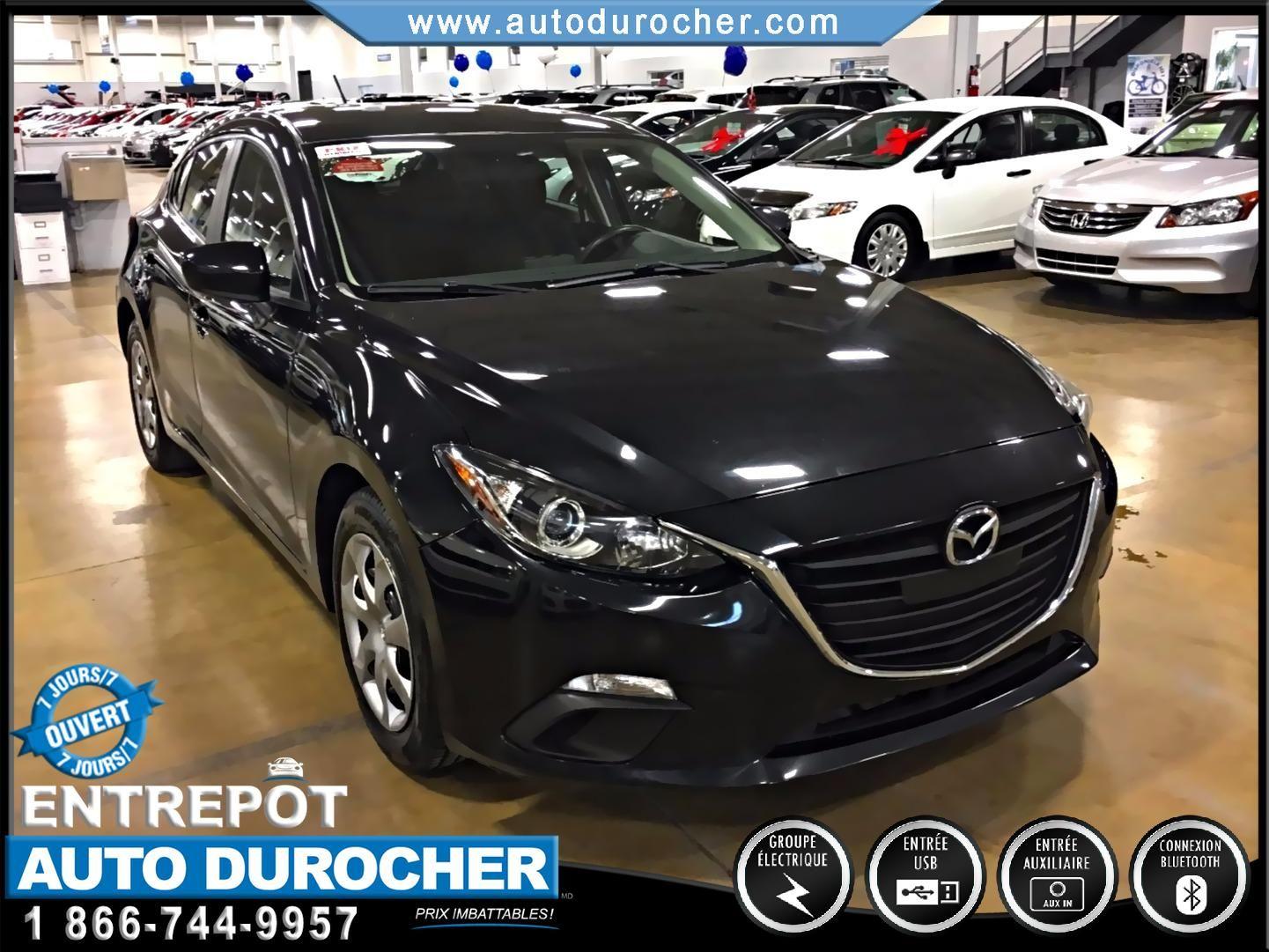 2014 Mazda Mazda3 GX-SKY NOUVEAU MODÈLE FINANCEMENT DISPONIBLE