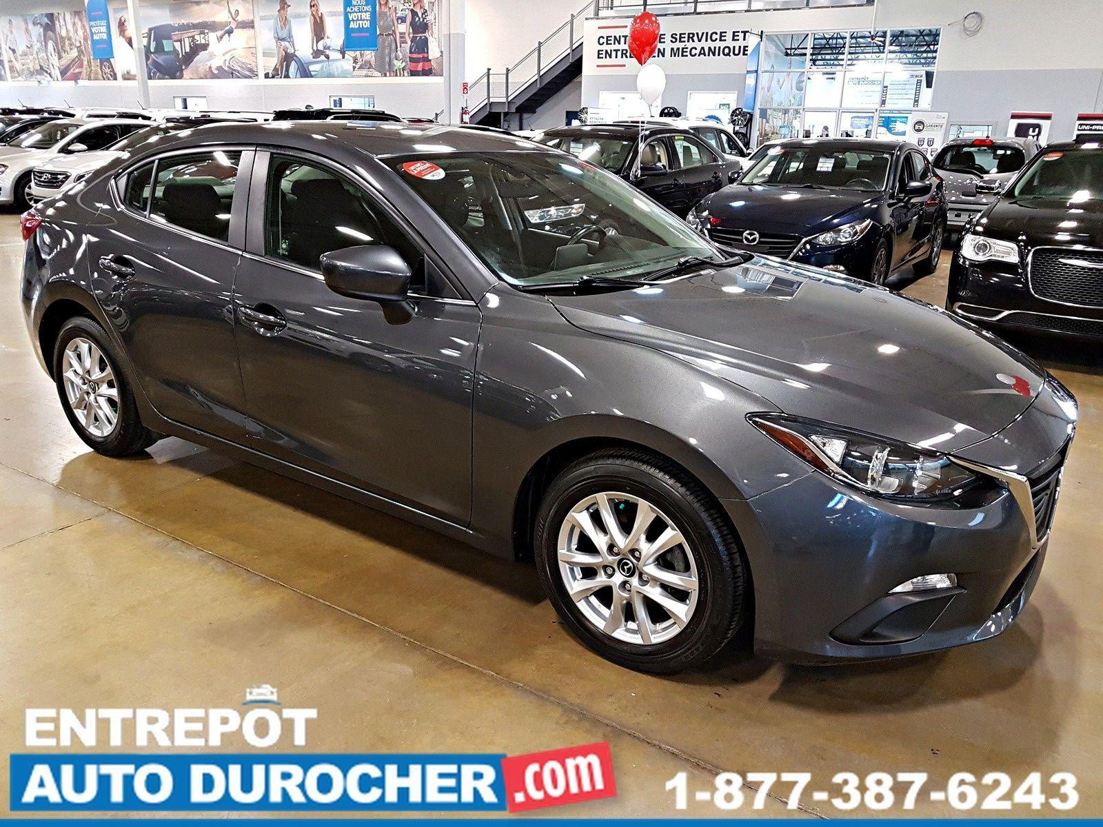 2014 Mazda Mazda3 GS-SKY Automatique - A/C - Caméra de Recul Heated Seats