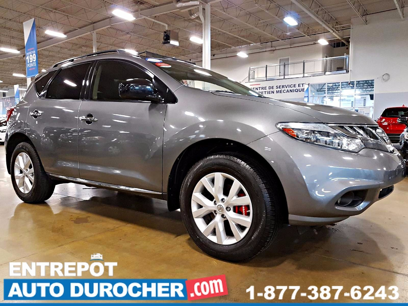 Nissan Murano SL AWD - AUTOMATIQUE - CUIR - TOIT OUVRANT 2013
