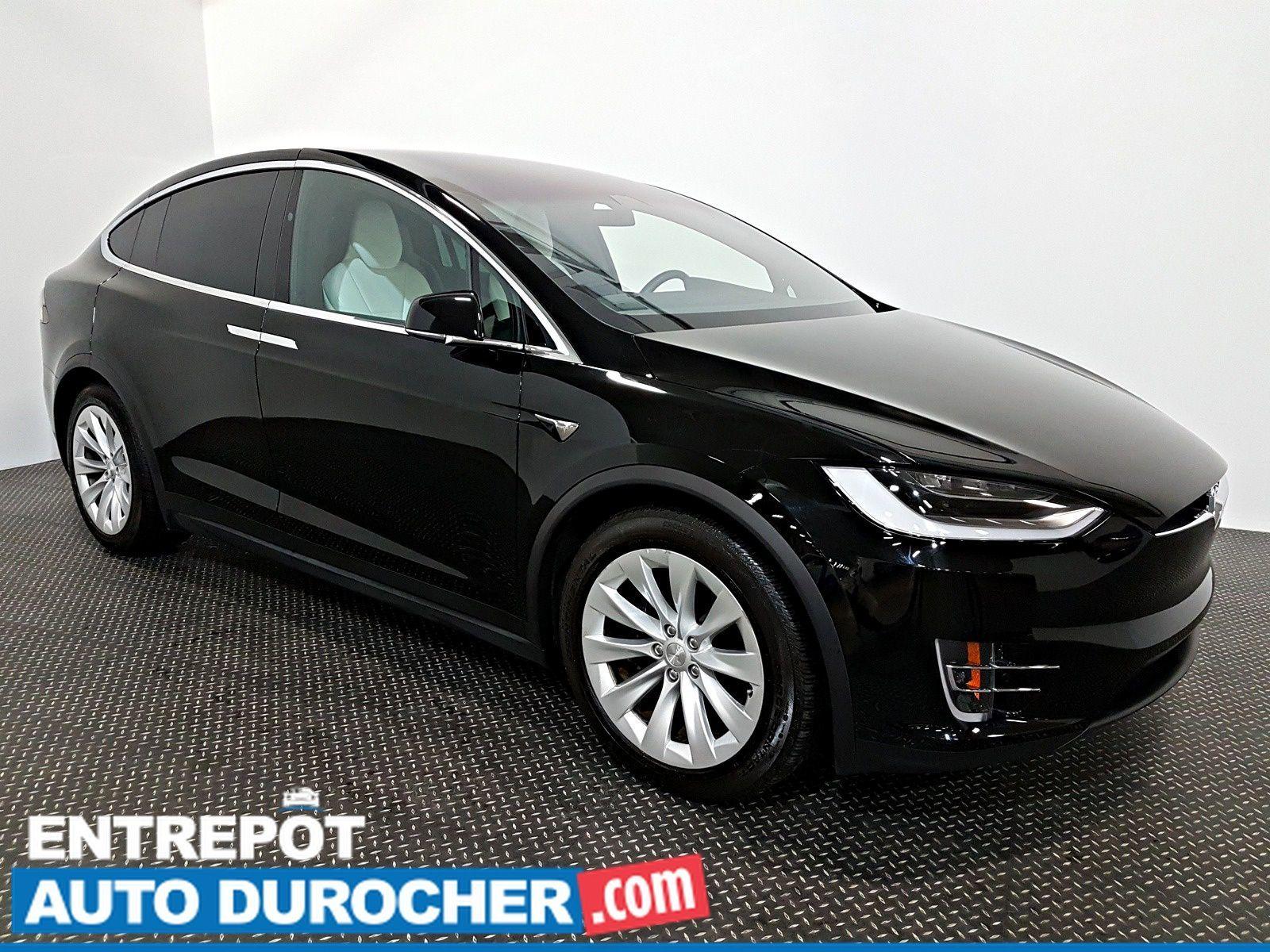 2017 Tesla Model X 90D AWD NAVIGATION  Automatique- A/C - Cuir- Caméra de Recul - Sièges Chauffants - 6 Passagers