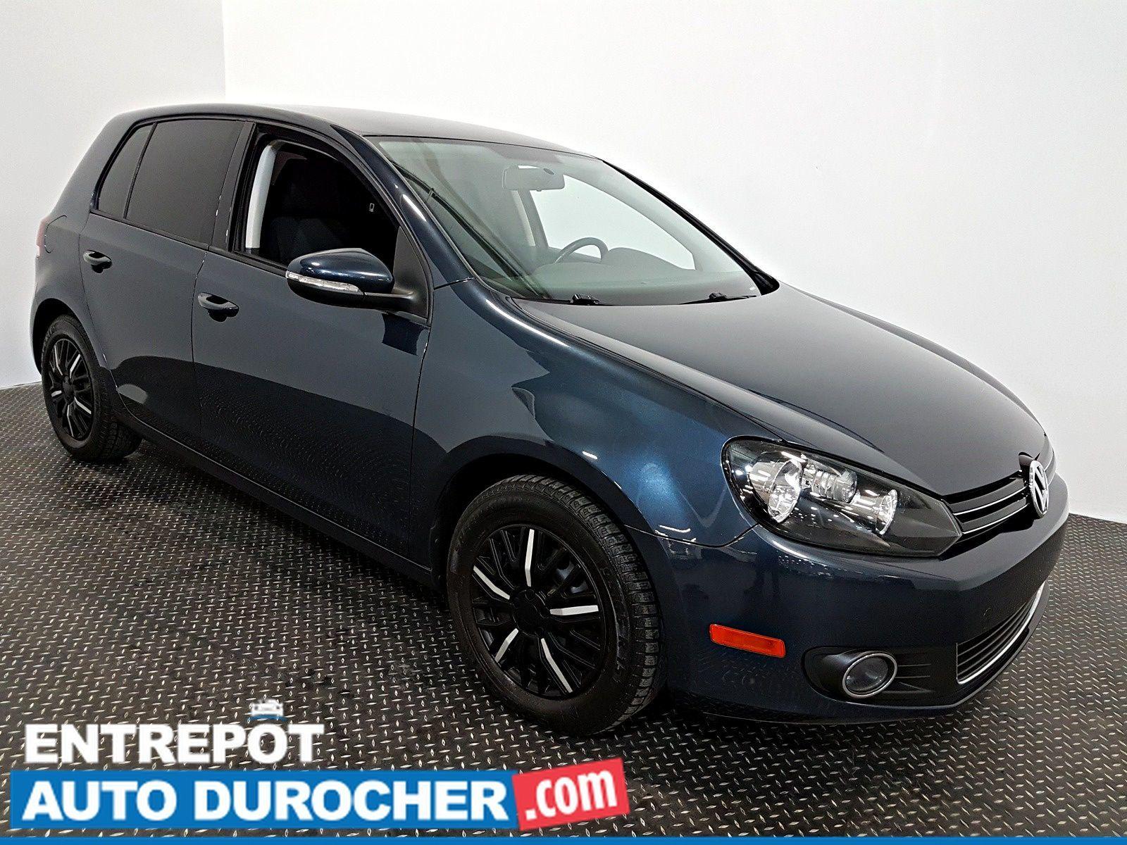 2013 Volkswagen Golf Comfortline TDI Automatique - AIR CLIMATISÉ - Groupe Électrique - Sièges Chauffants