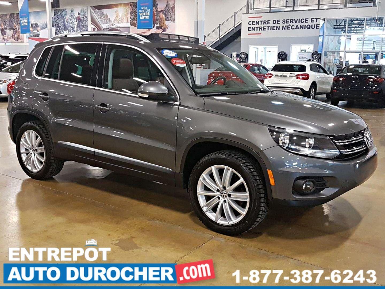 2014 Volkswagen Tiguan AWD  NAVIGATION TOIT OUVRANT SIÈGES EN CUIR CAMÉRA