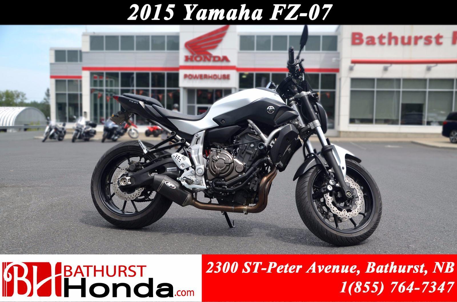 Yamaha fz 07 2015 d 39 occasion chez bathurst honda b4268c for Yamaha of sylacauga inventory