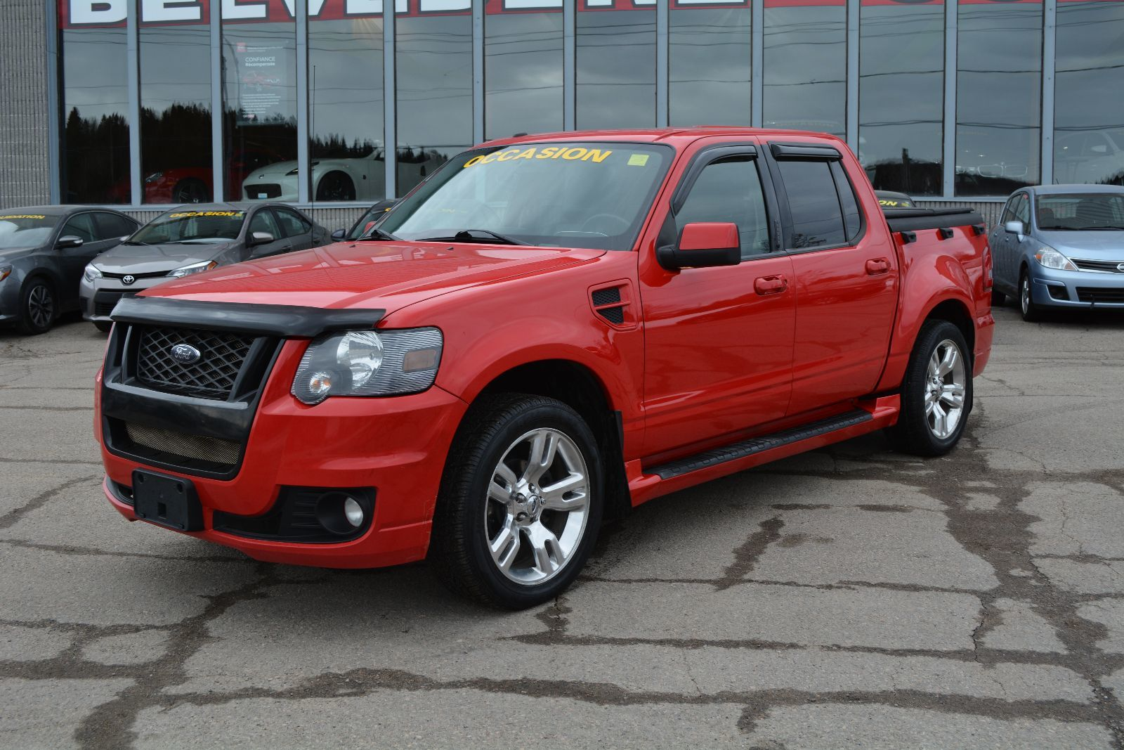 2009 Ford Explorer Sport Trac Adrenalin Awd Cuir Toit Nav Dvd Fuel Filter Vehicule Tres Rare Used For Sale In St Jrme Belvedere Nissan