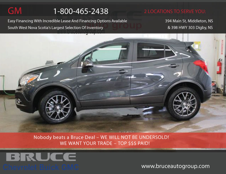 new 2016 buick encore sport touring 1 4l 4 cyl turbocharged awd in middleton 0. Black Bedroom Furniture Sets. Home Design Ideas