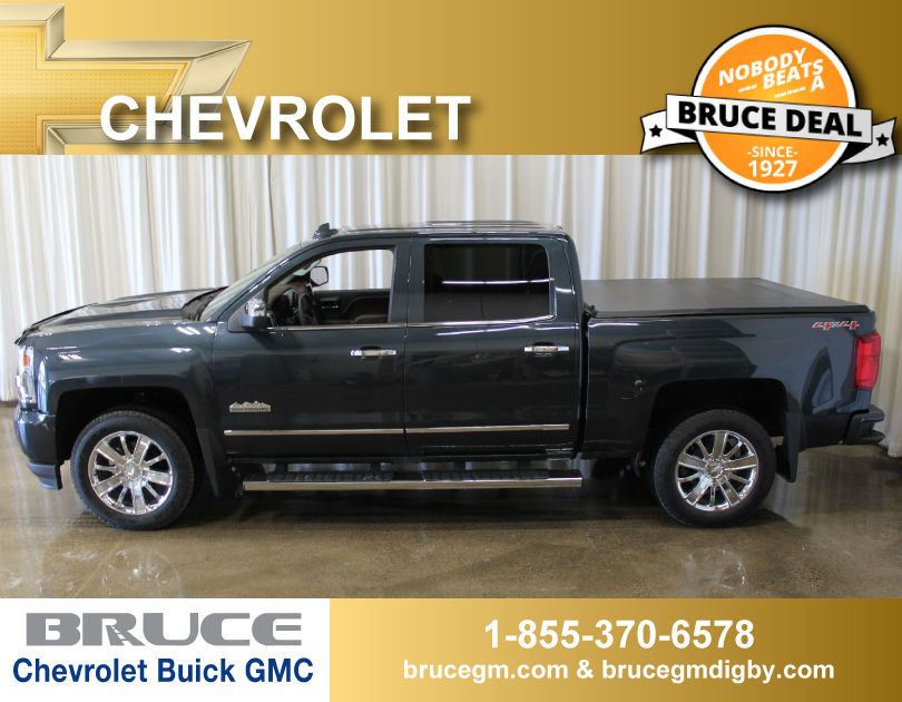 new 2017 chevrolet silverado 1500 high country 6 2l 8 cyl automatic 4x4 crew cab in middleton 0. Black Bedroom Furniture Sets. Home Design Ideas