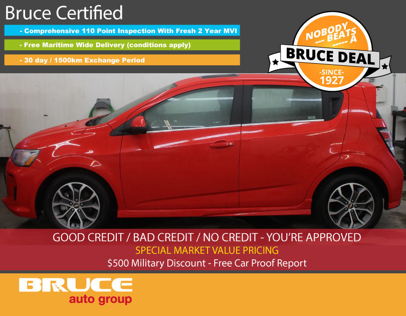 used 2017 chevrolet sonic rs lt 1 4l 4 cyl turbo automatic. Black Bedroom Furniture Sets. Home Design Ideas