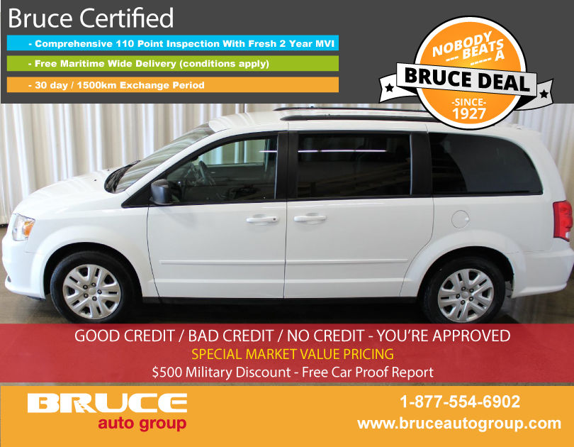 used 2016 dodge grand caravan sxt 3 6l 6 cyl automatic fwd 7 passengers in new minas 0. Black Bedroom Furniture Sets. Home Design Ideas